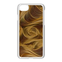 Paper Art Paper Art Eddy Yellow Apple Iphone 8 Seamless Case (white) by Sapixe