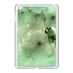 Wonderful Flowers In Soft Colors Apple Ipad Mini Case (white) by FantasyWorld7