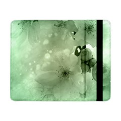 Wonderful Flowers In Soft Colors Samsung Galaxy Tab Pro 8 4  Flip Case by FantasyWorld7