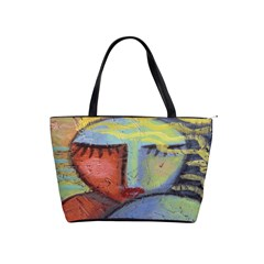 Original Abstract Painting  Classic Shoulder Handbag by paintedpurses