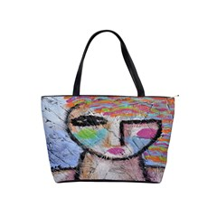 Wild Woman Abstract Art Classic Shoulder Handbag by paintedpurses