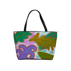 Leaves Abstract Art Classic Shoulder Handbag
