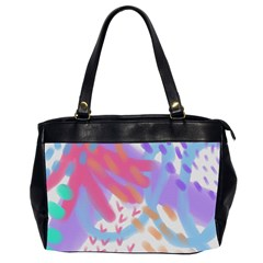 Funky Abstract Art Oversize Office Handbag (2 Sides) by paintedpurses
