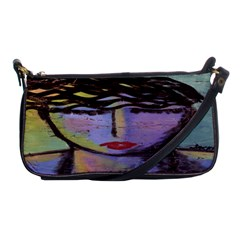 Beautiful Abstract Art Shoulder Clutch Bag