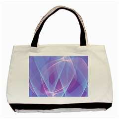 Background Light Glow Abstract Art Basic Tote Bag (two Sides) by Sapixe