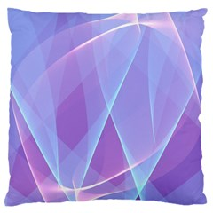 Background Light Glow Abstract Art Large Cushion Case (two Sides) by Sapixe