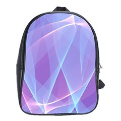 Background Light Glow Abstract Art School Bag (xl) by Sapixe
