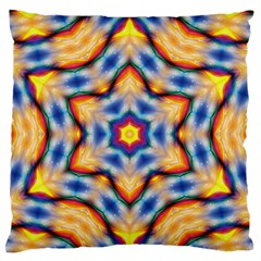 Pattern Abstract Background Art Standard Flano Cushion Case (one Side)