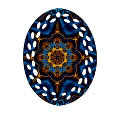 Pattern Abstract Background Art Ornament (oval Filigree)