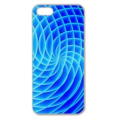 Background Light Glow Abstract Art Apple Seamless Iphone 5 Case (clear)