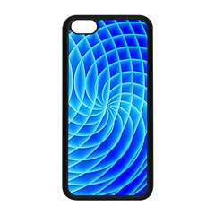 Background Light Glow Abstract Art Apple Iphone 5c Seamless Case (black)