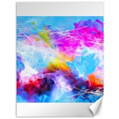Background Drips Fluid Colorful Canvas 36  X 48  by Sapixe