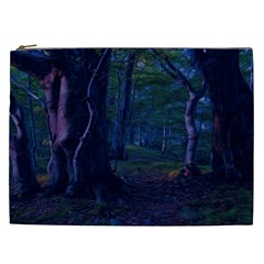 Beeches Tree Forest Beech Shadows Cosmetic Bag (xxl)