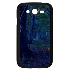 Beeches Tree Forest Beech Shadows Samsung Galaxy Grand Duos I9082 Case (black)