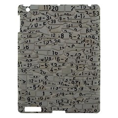Art Letters Alphabet Abstract Text Apple Ipad 3/4 Hardshell Case by Sapixe