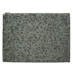 Art Letters Alphabet Abstract Text Cosmetic Bag (xxl) by Sapixe