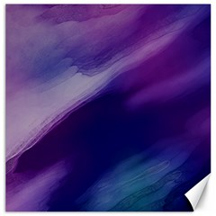 Purple Background Art Abstract Watercolor Canvas 20  X 20