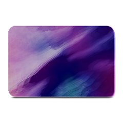 Purple Background Art Abstract Watercolor Plate Mats by Sapixe