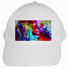 Background Art Abstract Watercolor White Cap by Sapixe