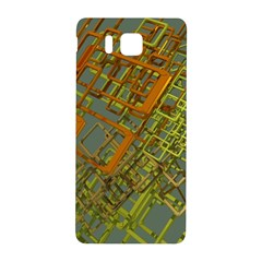 Art 3d Windows Modeling Dimension Samsung Galaxy Alpha Hardshell Back Case