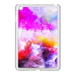 Background Drips Fluid Colorful Apple Ipad Mini Case (white)