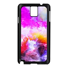 Background Drips Fluid Colorful Samsung Galaxy Note 3 N9005 Case (black) by Sapixe