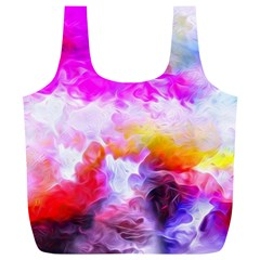 Background Drips Fluid Colorful Full Print Recycle Bag (xl) by Sapixe