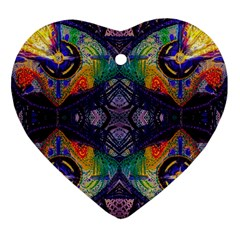 Phronesis Awareness Philosophy Heart Ornament (two Sides) by Sapixe