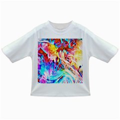 Background Drips Fluid Colorful Infant/toddler T Shirts