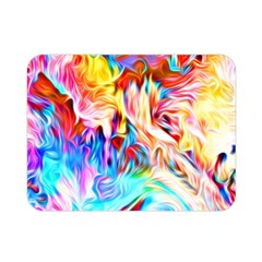 Background Drips Fluid Colorful Double Sided Flano Blanket (mini)