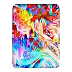 Background Drips Fluid Colorful Samsung Galaxy Tab 4 (10 1 ) Hardshell Case