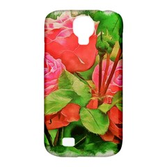 Figure Watercolor Art Nature Samsung Galaxy S4 Classic Hardshell Case (pc+silicone)