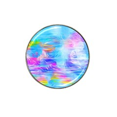Background Drips Fluid Colorful Hat Clip Ball Marker