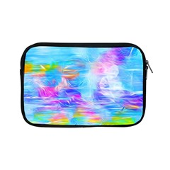 Background Drips Fluid Colorful Apple Ipad Mini Zipper Cases