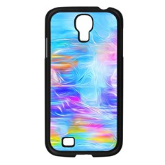 Background Drips Fluid Colorful Samsung Galaxy S4 I9500/ I9505 Case (black)