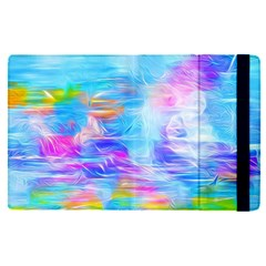 Background Drips Fluid Colorful Apple Ipad Pro 12 9   Flip Case