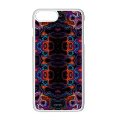 Kaleidoscope Art Pattern Ornament Apple Iphone 7 Plus Seamless Case (white) by Sapixe