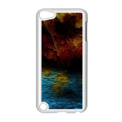 Background Cave Art Abstract Apple Ipod Touch 5 Case (white)
