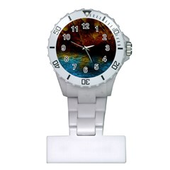Background Cave Art Abstract Plastic Nurses Watch