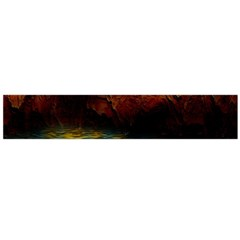 Background Cave Art Abstract Large Flano Scarf  by Sapixe