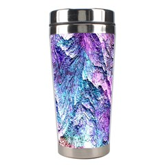 Background Peel Art Abstract Stainless Steel Travel Tumblers