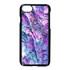 Background Peel Art Abstract Apple Iphone 7 Seamless Case (black)