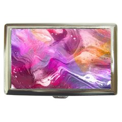 Background Art Abstract Watercolor Cigarette Money Case