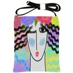 Beautiful Abstract Art Shoulder Sling Bag Front