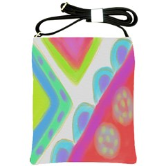 Colorful Abstract Art Shoulder Sling Bag