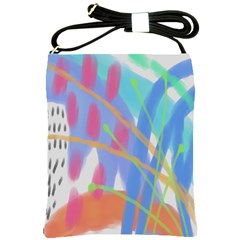 Original Abstract Painting  Shoulder Sling Bag