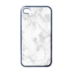 Marble Apple Iphone 4 Case (black) by DannyM