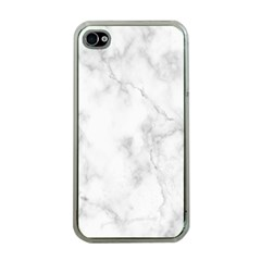 Marble Apple Iphone 4 Case (clear)