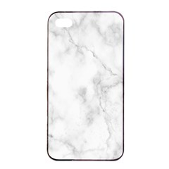 Marble Apple Iphone 4/4s Seamless Case (black) by DannyM