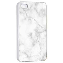 Marble Apple Iphone 4/4s Seamless Case (white) by DannyM